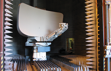 Antenna in Testing bay